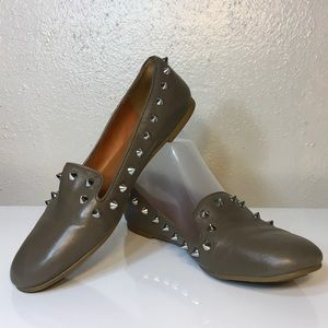 Marc by Marc Jacobs Studded Spike Loafer Sz 6.5